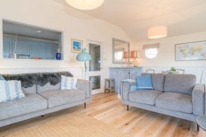 Seaspray Symondsbury Estate holiday cottage living room