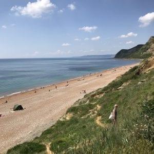 Eype beach in Dorset