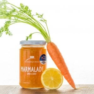 lemon and carrot marmalade
