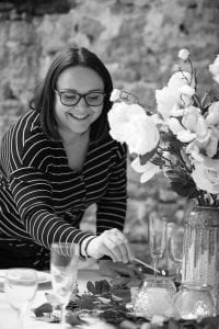 srah the weddings and events manager at symondsbury estate