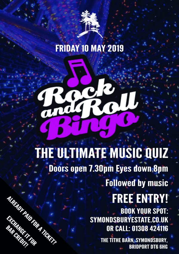 rock n roll bingo poster