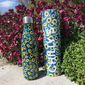 sunflower chillys bottle and box