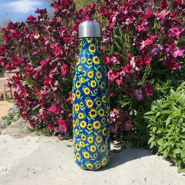 sunflower pattern chillys bottle